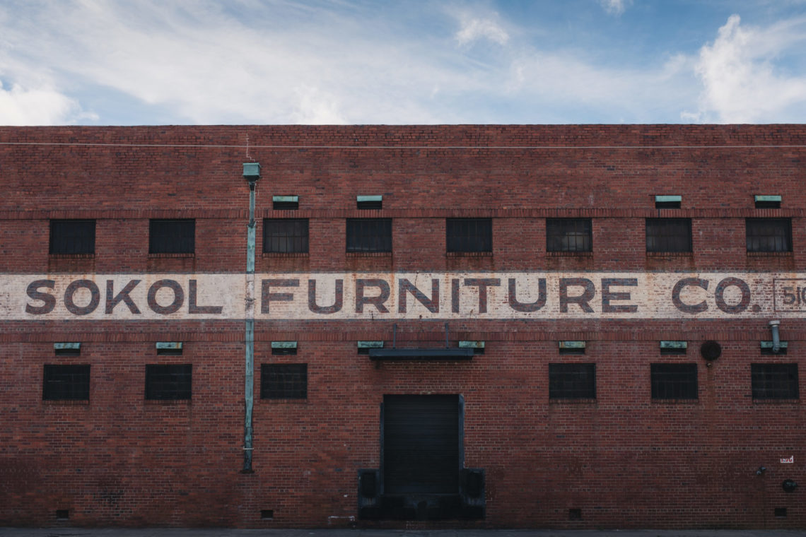 Morris Sokol Furniture Co. - Charleston, South Carolina - Fuji X100F