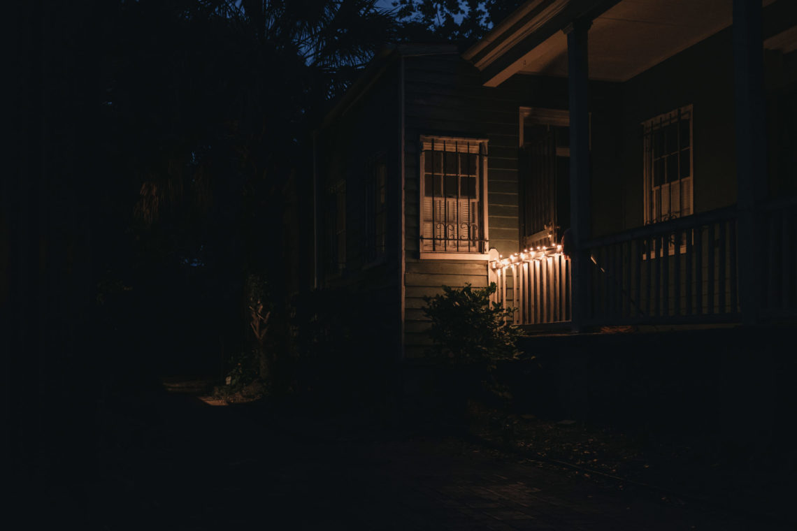 Night Porch - Charleston, South Carolina - Fuji X100F