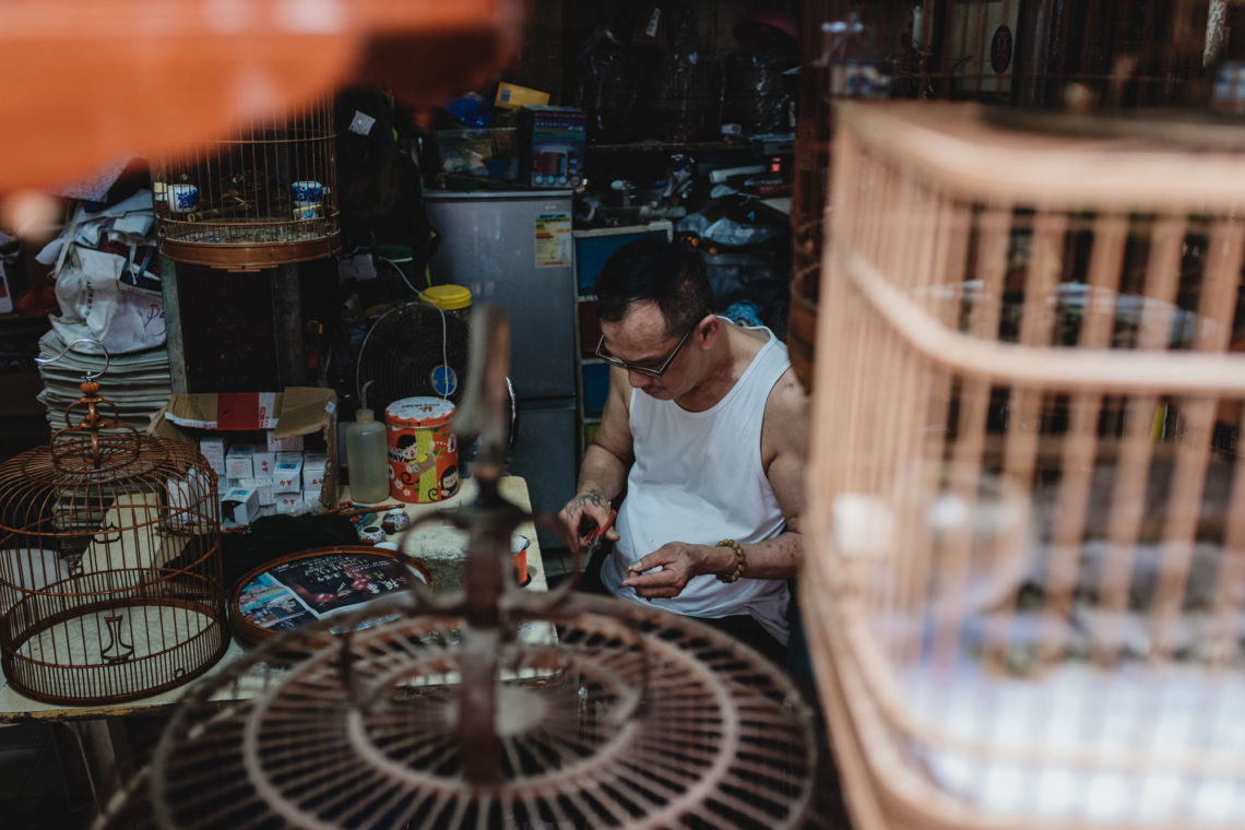 Yuen Po Street Bird Garden and Market Vendor II - Hong Kong - Fuji X100F