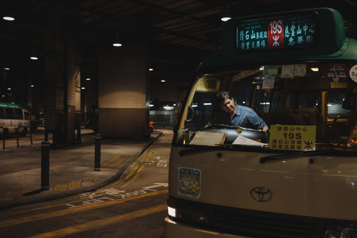 Public Light Bus 19S - Hong Kong - Fuji X100F