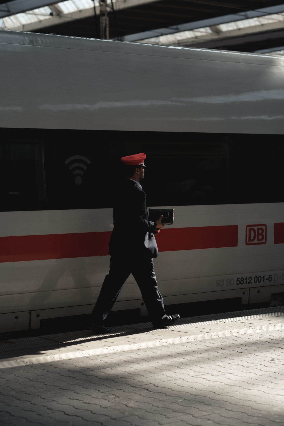 Deutsche Bahn Conductor - Munich, Germany - Fuji X-T3